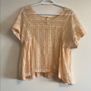Free People - lace top